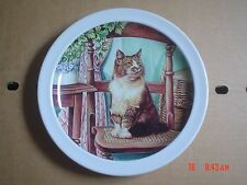 Woods And Sons NHS Collectors Plate CAT ON CHAIR
