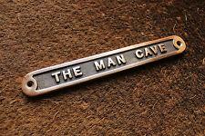 'The Man Cave 'cuivre Panneau de porte Abri garage vintage ~ métal massif cadeau
