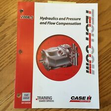 Case International IH TECH-COM HYDRAULIC PRESSURE FLOW COMPENSATION GUIDE MANUAL