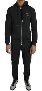 BILLIONAIRE COUTURE Tracksuit Gray Stretch Sweater Pants Set IT50 / L RRP $1600