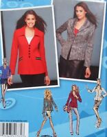 Misses 6-14 Jacket Length Front & Collar Variations Pattern Simplicity 1781 NEW