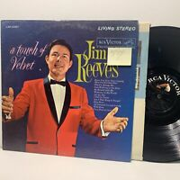 Jim Reeves A Touch Of Velvet- RCA Victor LSP 2487 VG(+)/VG+ Country LP