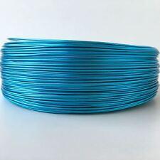 1 Rollo de 10 metros de Alambre de 1 mm color azul