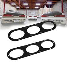 Universal 2PCS Rear Bumper Race Air Diversion Diffuser Panel Car Black Durable
