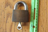 ABLOY padlock 3071 Hardened steel pad lock MV2 with key made in Finland Vintage