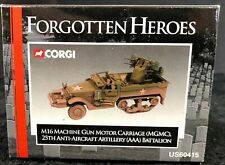 Corgi Forgotten Heroes, M16 Machine Gun Motor Carriage, # US60415,1:50 Scale-NIB