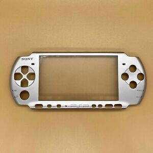 Silver Front Faceplate Housing Case Shell Cover For PSP 3000 PSP3000 Replacement