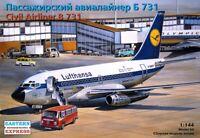 EASTERN EXPRESS 14415 - Civil Airliner Boeing 737-100 LUFTHANSA / Modell 1:144