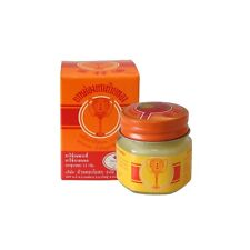 Thailand Golden Cup Balm Herbal Relief Muscular Pain Headache Insects Bite 12 g