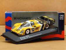 1/43 Porsche 956L 24h Le Mans 1983 #12 NewMan Joest Racing Minichamps Model