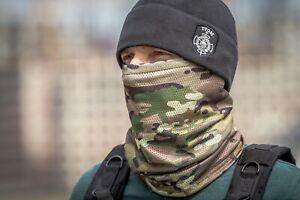 Russian army Neck Gaiter Scarf Face Mask Balaclava Multicam camo