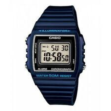 Orologio Da Polso CASIO W-215H-2AVDF Digitale Unisex Sveglia Crono Blu lac