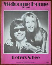 Peters & Lee Welcome Home (Vivre) by J. Dupre, B. Blackburn S. Beldone – 1972