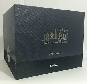 Dahn Al Oudh Rabia Al Omr by Ajmal Unisex 3 ML CPO,Attar, Free from Alcohol.