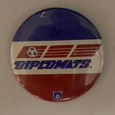 Washington Diplomats (NASL)- RARE Soccer Pinback Button