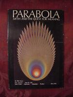 RARE PARABOLA Magazine Spring 1977 P. L. Travers Jane Yolen David Rosenberg