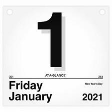 New Listing2021 Daily Wall Calendar Refill By At A Glance 8 12 X 8 Small Today Is D