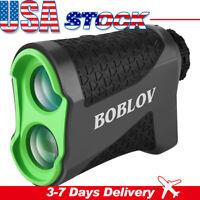 Boblov 650Yards Golf Laser Rangefinder Flag Locking 6X Magnification with CR2-3V