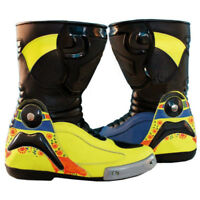 VR 46 Valentino Rossi Motorcycle Custom Made Racing Shoes Boots