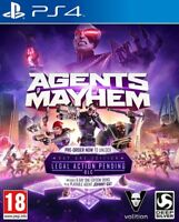 Agents Of Mayhem Day One Edition PS4 * NEW SEALED PAL *