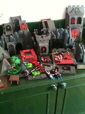 PLAYMOBIL Figure and castle spares, black castle