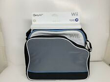 NEW Nintendo Wii Console Power A Carry All Travel Storage Carrying Case Bag RARE