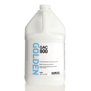 Golden Acryl Med 128 Oz Gac-800 Acrylic