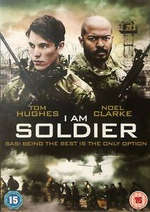 I AM SOLDIER DVD - REGION 2 - Action War Thriller Tom Hughes