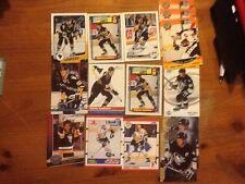Mario Lemieux 19 Card Lot With Premiums See Photos Mario Lemieux