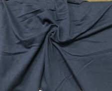 Bamboo Cotton Jersey Knit Fabric Eco-Friendly 8 oz High-End Vintage Denim Blue
