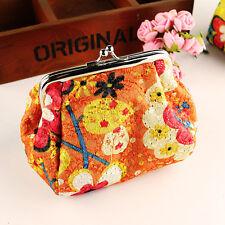 Women Girls Vintage Coin Card phone Wallet Holder Clutch Purse Bags Handbags Hot