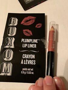 Buxom Plumpline Lip Liner: Hush Hush (.03 oz) Sample Duo Color & brush