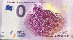 BILLET 0 EURO UKKOHALLA CHAMPIOMSHIP FINLAND  2019 NUMERO 1600