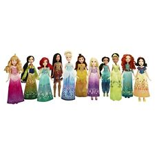 Disney Princess Shimmering Dreams Collection 11 Doll Set w/ Shoes Outfits Gowns