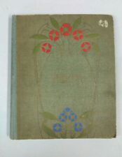 Vintage Post Card Album - Early 1900s - No Postcards - Embossed Front Cover