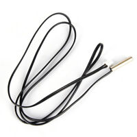 1m NTC Thermistor Accuracy Temperature Sensor 10K 1% 3950 Waterproof Probe 0cn
