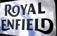 high detail airbrush stencil royal enfield 2 logo FREE UK POSTAGE