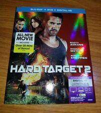 HARD TARGET 2 NEW BLU-RAY/DVD