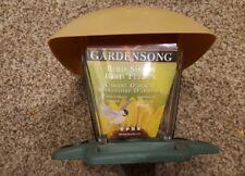 GardenSong Bird Shack feeder 2.5 Lbs.capacity easy lift off top model 472