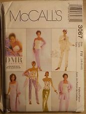 McCall's Pattern # 3067, Jacket bustier Pants Skirt Stole ~ Sizes 18-20-22