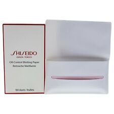 Oil-Control Blotting Paper by Shiseido for Unisex - 100 sheets Blotting Paper