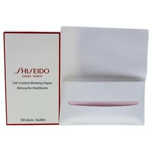 Shiseido Oil-Control Blotting Paper Unisex  100 sheets Blotting Paper SHIPS FREE