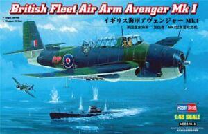Hobbyboss 80331 1:48th scale British Fleet Air Arm Avenger Mk I