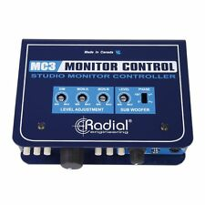 Radial Engineering MC3 - Studio Monitor Controller with Headphone Amplifier NEW!