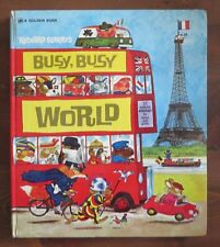 Richard Scarry's BUSY BUSY WORLD Hardcover Oversized