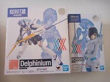 More details for darling in the franxx ichigo and delphinium figure set bandai