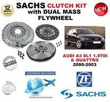 pour Audi A3 8L1 1.9 TDI + QUATTRO 2000-2003 Kit embrayage avec