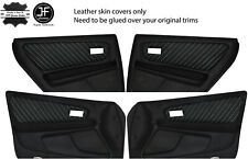 RED STITCHING FITS TOYOTA JZX100 CHASER 1996-2000 GEAR GAITER REAL LEATHER