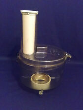 GE Food Processor WORK BOWL, LID, AND FOOD PUSHER FP1-4200
