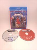Annie Movie (Blu-ray/DVD, BluRay, 2015, 2-Disc Set, Canadian Bilingual)